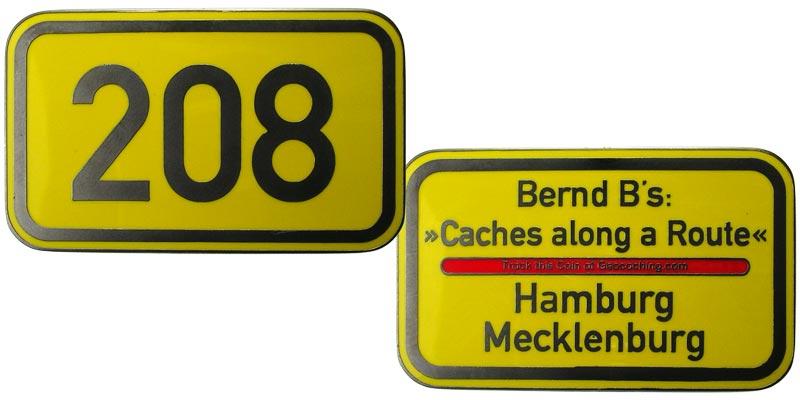 Bernd B's Route 208 (Matt Gun)