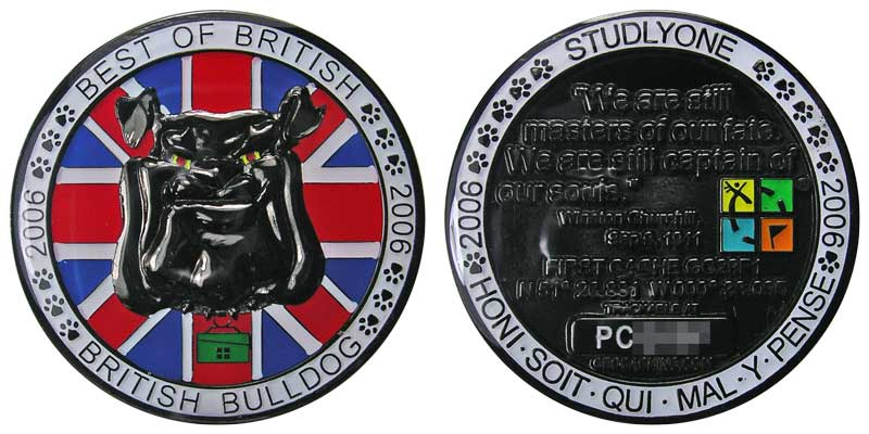 British Bulldog (Blk Nickel)
