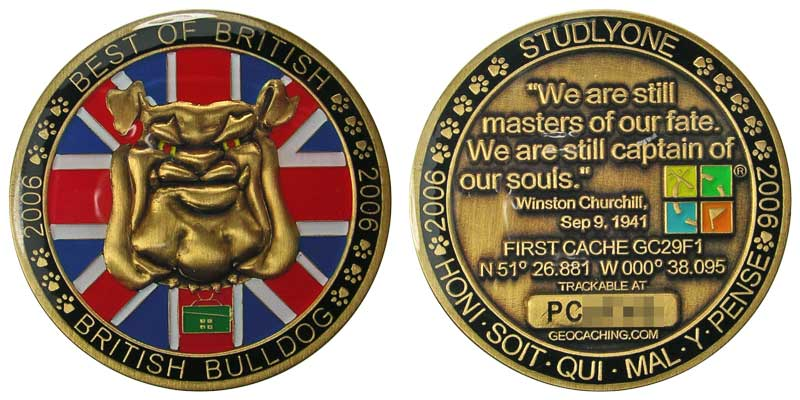British Bulldog (Gold)