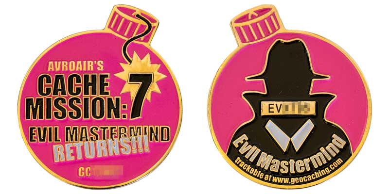 Cache Mission 7: Evil Mastermind Returns