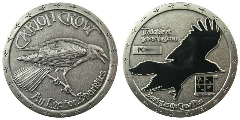 Carion Crow (Antique Silver)