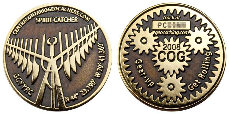 COG 2008 (Gold on Black)