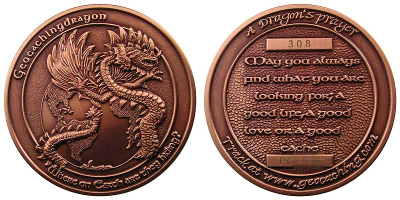 GeocachingDragon v1.1 (Copper)