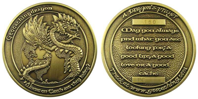 GeocachingDragon (Brass)