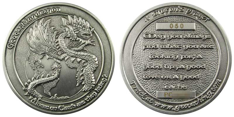 GeocachingDragon (Silver)