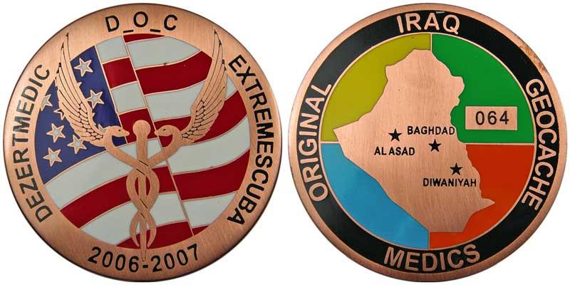 Iraq Geocache Medics