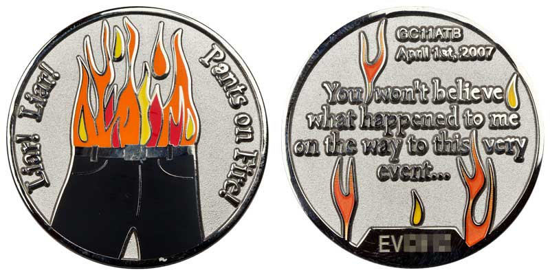 Liar! Liar! Pants on Fire! (Silver)