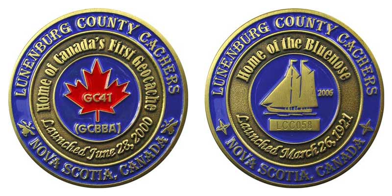 Lunenburg County Cachers (Bronze)