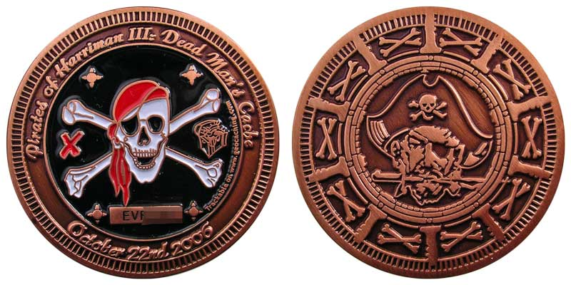 Pirates of Harriman III (Copper)