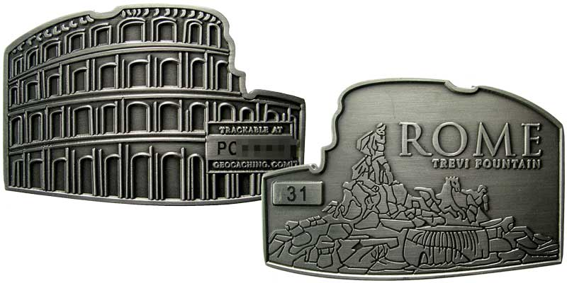 Rome - Coliseum (Silver)