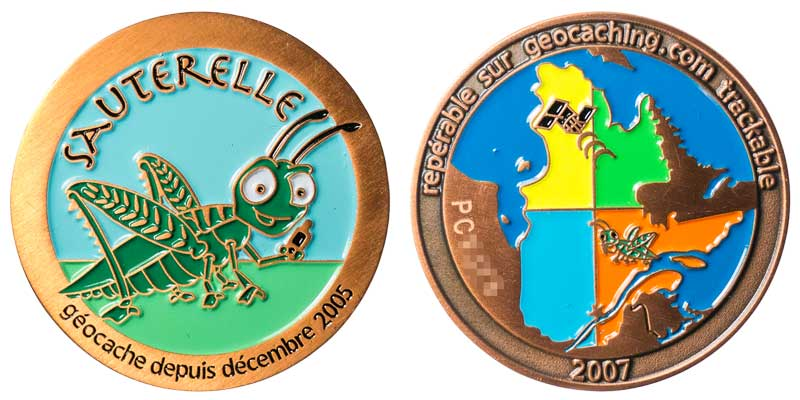 Sauterelle (Copper)
