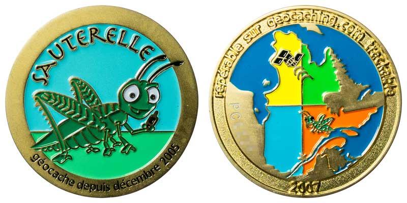 Sauterelle (Gold)