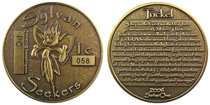 Sylvan Seekers - Trickel (Gold)