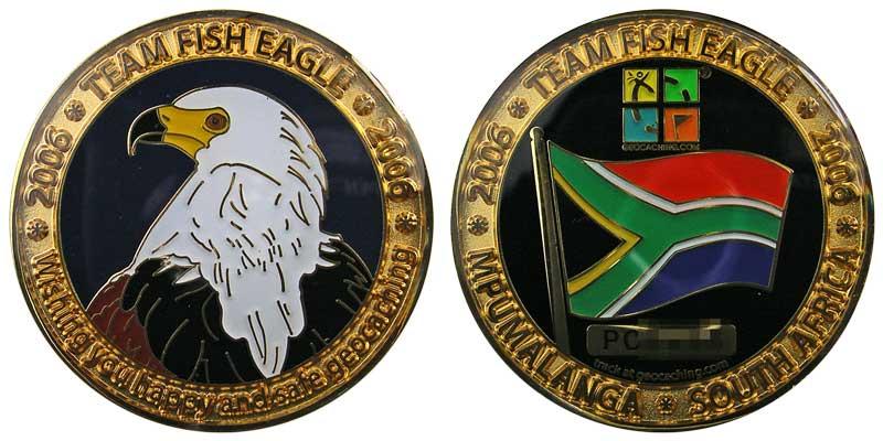 Team Fish Eagle (Gold)