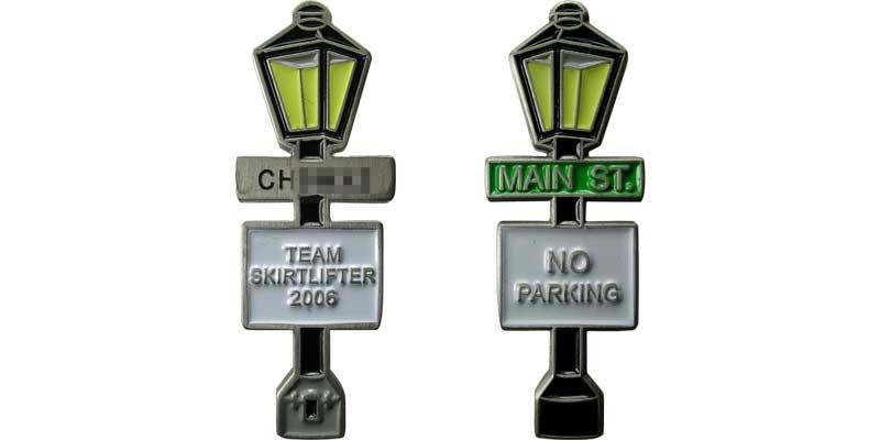 Team Skirtlifter - Lamp Post