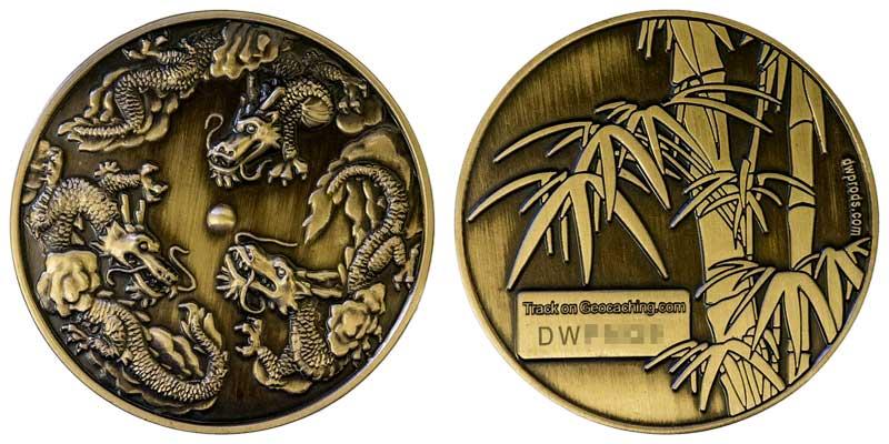 Triple Dragon (Gold)