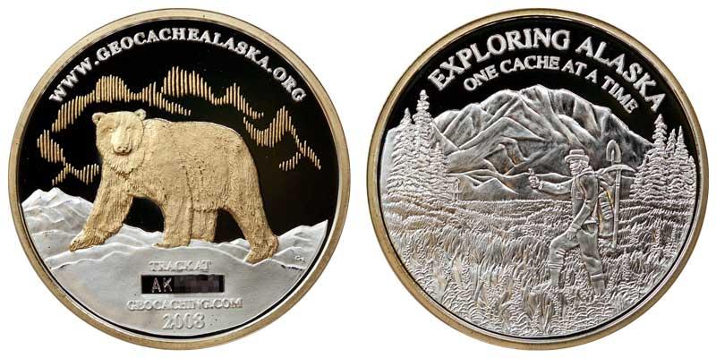 Alaska 2008 (Silver w/Gold)
