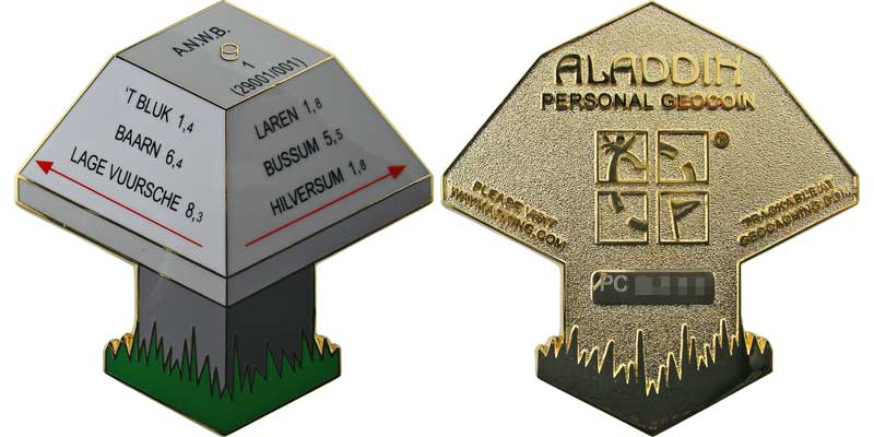 ANWB Mushroom (Gold)