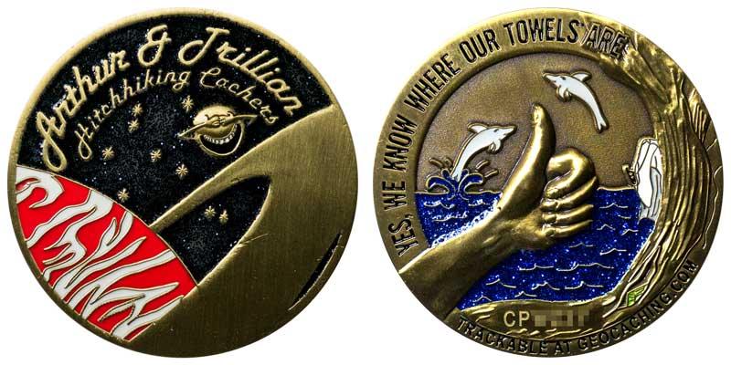 Arthur & Trillian (A.Bronze)