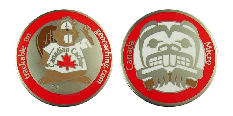 Canada Christmas Micro (Satin Silver)