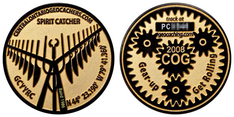 COG 2008 (Black on Gold)