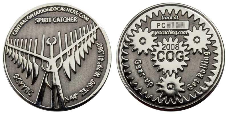 COG 2008 (Nickel on Black)