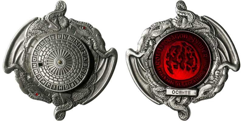 Dragon Spinner (Silver)