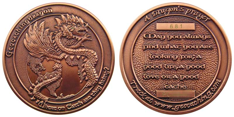 GeocachingDragon v1.2 (Antique Copper)