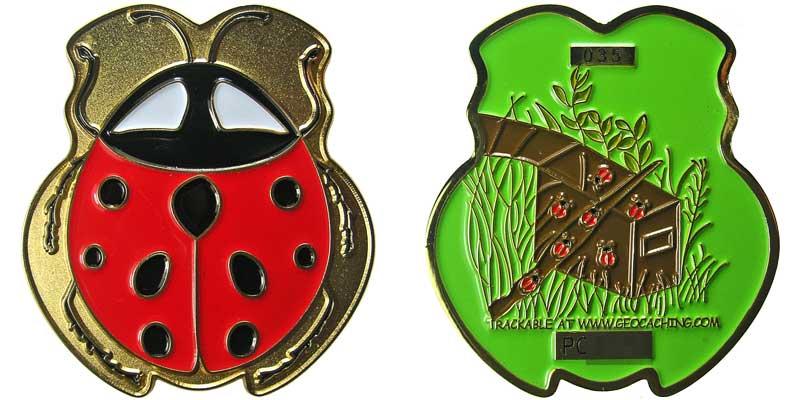 Ladybug (Gold)