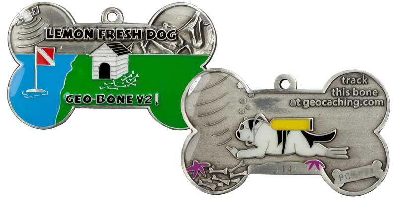 Lemon Fresh Dog Geo-Bone v2