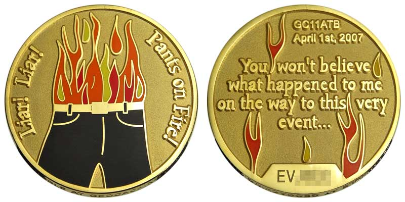 Liar! Liar! Pants on Fire! (Gold)