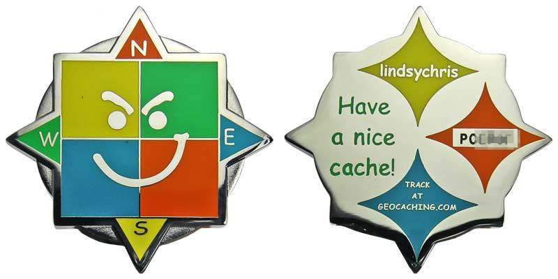 Lindsychris Geosmirk (Nickel)