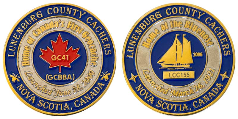 Lunenburg County Cachers (Gold)