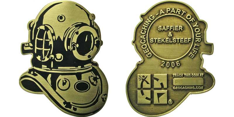 Saffier & Stekelsteef Diving Helmet