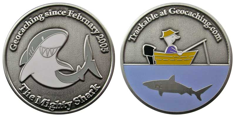 The Mighty Shark (Silver)