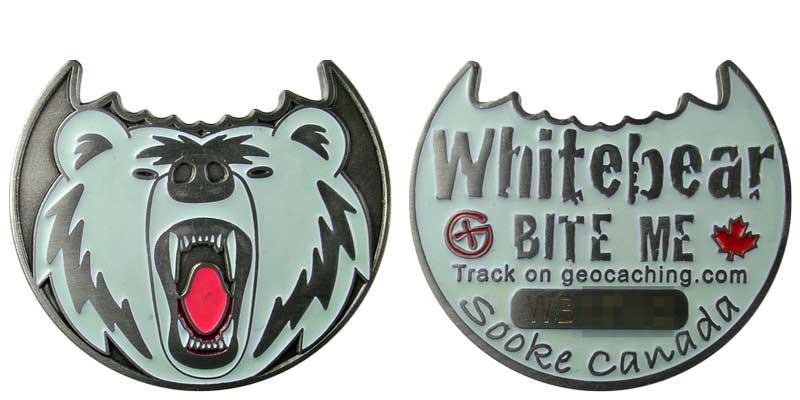 Whitebear BITE ME (Silver Glow)